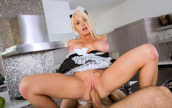 Sexual intercourse with a fiery maid.